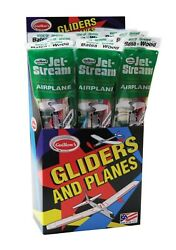8 Guillowand039s 55 Jetstream Flying Balsa Wood Toy Airplanes Made In Usa Gui-55-8