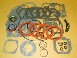 1956 1957 Chevy Powerglide Transmission Overhaul Gasket Seal And Clutches Kit