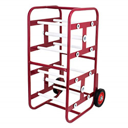 Adirpro Transportable Multiple Axle Cable Caddy - Multi-spool Wire Rack - Easy And
