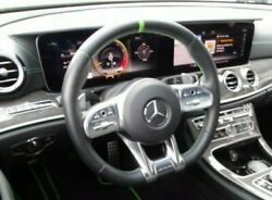 Mercedes-benz Oem W213 E63 Amg S Green Trimmed Steering Wheel Designo Two-tone