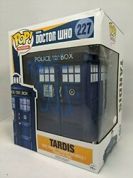Doctor Who Tardis #227 Funko Pop JSA Autographed Signed By Gillan Eccleston