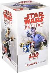 Star Wars Destiny Legacies Booster Packs Display Collectible Dice And Card Game