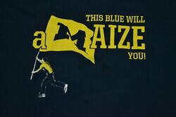 University Of Michigan Wolverines Marching Band Color Guard Amaize You Small