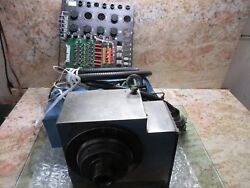 Acroloc M15l Cnc Mill 4th Axis Rotary Table Indexer Dtd P/n 118-230 Fanuc