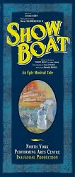 Elaine Stritch Show Boat Robert Morse / Mark Jacoby 1993 Toronto Tryout Flyer