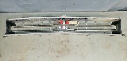 1969 Plymouth Gtx Grille Sport Satellite Grill Rare Restorable B-body 69 Front