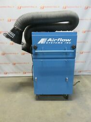 Airflow Systems Industrial Fume Extractor Dust Weld Air Filtration Unit Arm