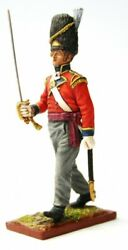 Painted Tin Toy Soldier Grenadier Regiment Officer 1 54mm 1/32