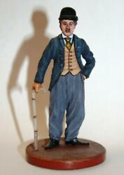 Painted Tin Toy Soldier Charlie Chaplin 54mm 1/32