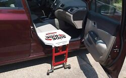 Slide And039n Rideandreg Vehicle Assist Transfer Seat/board/device-500lb. Rated Foldable