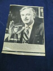 John Kemeny Appointed To Probe Nuclear Accident Vintage Wire Press Photo
