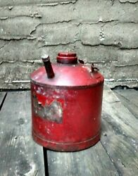 Antique Gasoline Can- Gem Mf'g Co. Pittsburgh Pa Vintage Auto Oil Gas