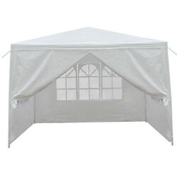 10'x10' Carport Garage Car Shelter Canopy Party Tent For Bbq Have Fun Yard