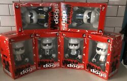 Set Of 6 Rare Qee Bearbearq Reservior Dogs Grails