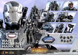 Hot Toys Avengers Infinity War War Machine Mark Iv 1/6th Collectible Figure New
