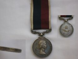 Wonderful Royal Air Force Long Service Good Conduct Full Size Medal Erii.