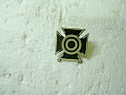 Us Army Pin/medal Rifle Clutch Back Sharpshooter--wwii---sterling -orig.