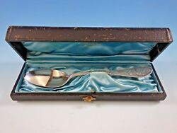 Japanese By And Co. Sterling Silver Pap Invalid Spoon 7 In Original Box