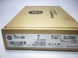 Allen Bradley 1746-in16 C Not China This Is Usa Stock Free Shipping
