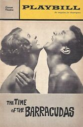 Elaine Stritch The Time Of The Barracudas Laurence Harvey 1963 Flop Playbill