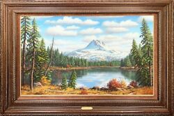Ronnie Hedge Original Oil On Canvas In Perfect Condition