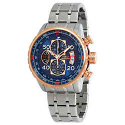 Aviator Chronograph Blue Dial Menand039s Watch 17203