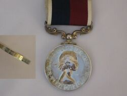 For Ww2 Royal Air Force Long Service Good Conduct Full Size Medal Erii.