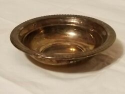 Antique F.b. Rogers Silver Co Silverplate Bowl - Trade Mark 1883