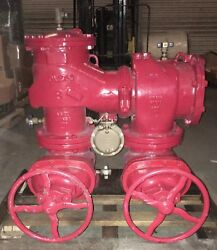 Watts Febco 8andrdquo 880v Rpz Reduced Pressure Zone Assembly Backflow Preventer