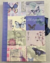 Asian Butterfly Photograph Album Holds 25 Photos Pictures By Pepper Pot