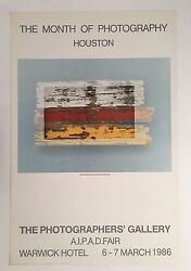 Wooden Flag Photographed By Peter Ruting Rare Exhibition 1986 Art Photo Print