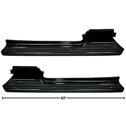 1953 1954 1955 1956 Ford Truck Running Board Pair Right And Left Side Dynacorn