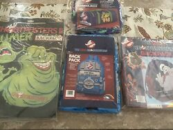 The Real Ghostbusters Backpack And Slumber Bag New Slumber Mate Vintage 86 And 90