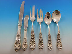 Richelieu By International Sterling Silver Flatware Set For 8 Service 54 Pieces