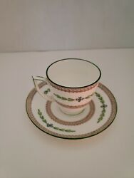 Minton Kent Demitasse Cups And Saucers  Sold As Set Of 6
