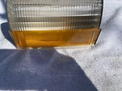 1973 Ford Parking Light Lens - Rh -good For Spare Sae Aip2p 73afd Ford Rh