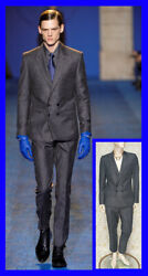 Fall/winter 2011 Look 32 Brand New Versace Gray Suit 48 - 38 M