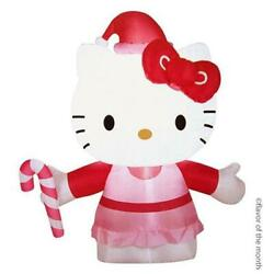 Sanrio Hello Kittyand039s Christmas Air Blow Deco Light Pink About 0.9m