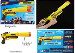 Fortnite Sp-l Nerf Elite Blaster Ages 8+ Toy Gun Fire Play Fight Game Gift Set