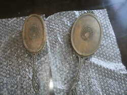 Apollo Studios Antique Dresser/vanity Set Hand Mirror And Hair Brush Early 1900and039s