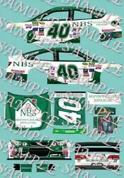 2015 1 64 HO PEEL amp; STICK DECALS #40 LANDON CASSILL NEWTOWN BUILDING CHEVY