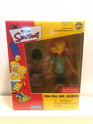 The Simpsons Pin Pal Mr. Burns Toyfare/wizard Exclusive