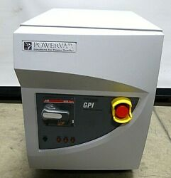 Powervare Abc 15.0-20d40y 15 Kva 3 Phase Power Conditioner