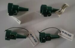 Rugg Poly Sweeper Nozzle With Shutoff Valve. 4qty. Free Shipping