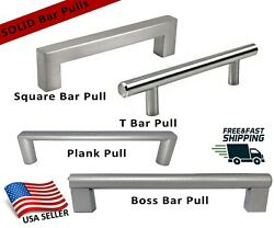 Square Boss T Bar Pull Handle Stainless/steel/zinc Kitchen/bath Cabinet Hardware