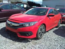 Engine 1.5l Turbo Vin 3 6th Digit Coupe 174 Hp Fits 16-17 Civic 392839