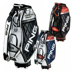 PING Golf Men's Caddy Bag KARSTEN Design 47 Inch 4.5kg CB-C202 Fast Shipping EMS