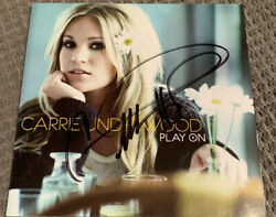 Play On By Carrie Underwood Cd, Nov-2009, Sony Autograph Signed Jsa Coa