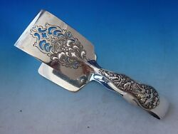 Olympian By And Co Sterling Silver Asparagus Serving Tong Bc Scalloped