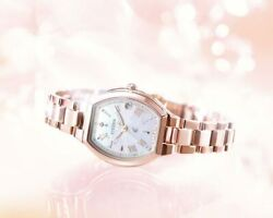 Citizen Watch Xc Es9362-52x 2500 Pcs Limited Model Pink Gold For Women's